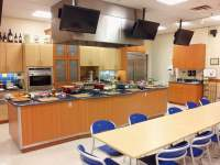 Publix commercial kitchen set up for a Hands-on cooking ...