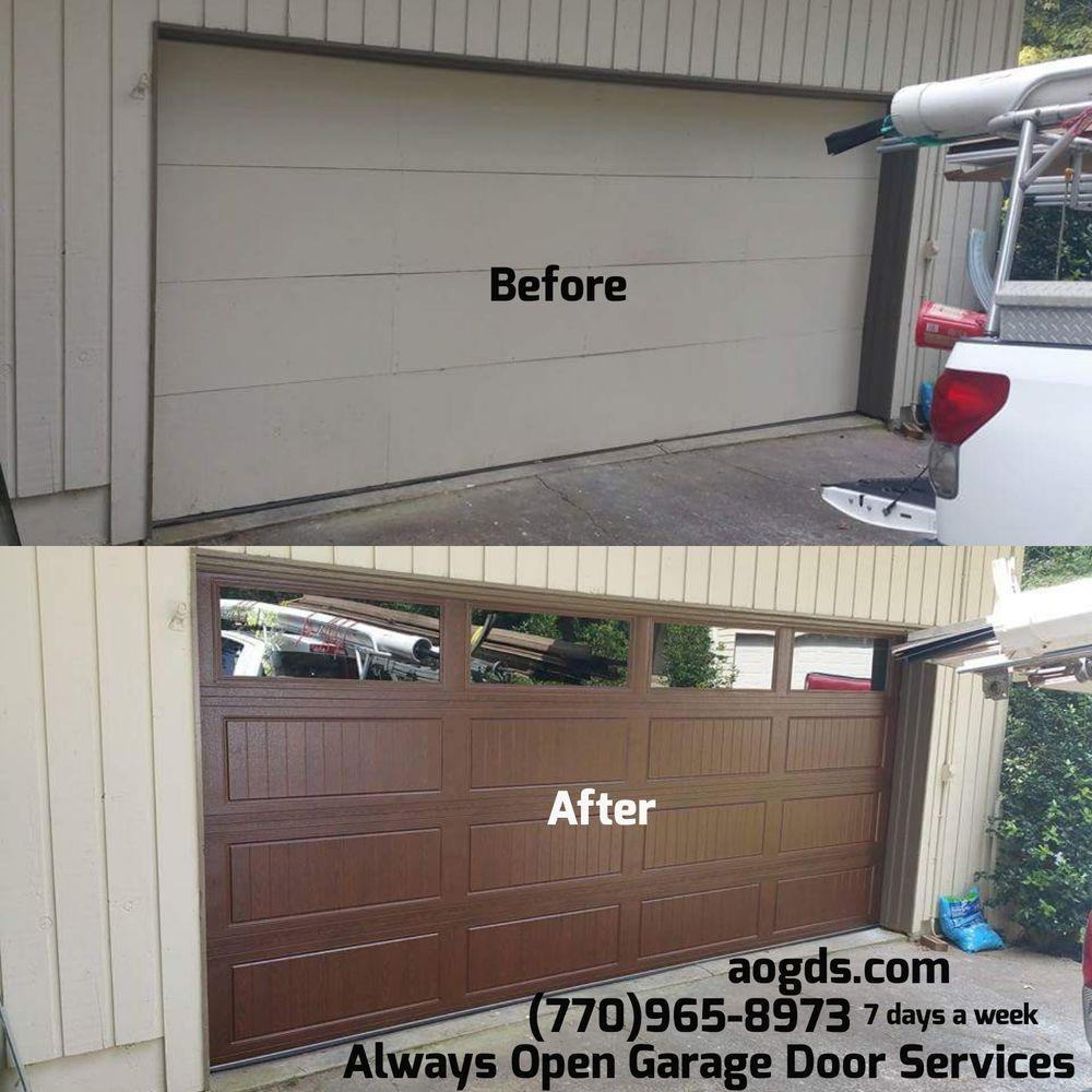 Always Open Garage Door Services  Get Quote  17 Photos  Garage Door Services  4970 Peach