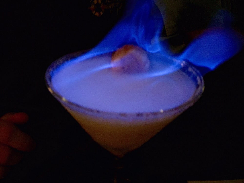 white rabbit cocktail with