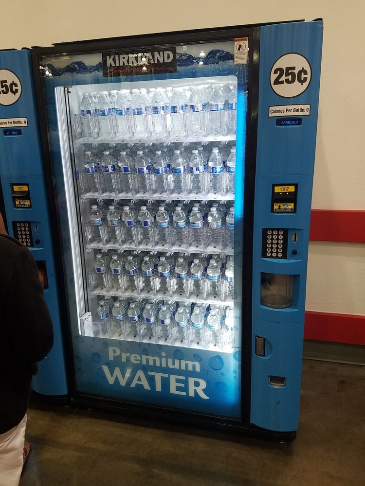 25 cents for water