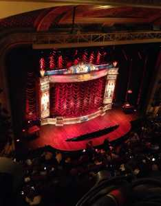 Photo of walter kerr theatre new york ny united states view from also front row balcony had to lean  bit times but overall rh yelp