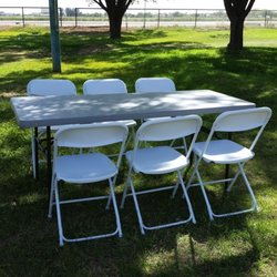 table and chair rentals swivel for two delanie s party equipment 18602 lindsay rd gilbert az phone number yelp
