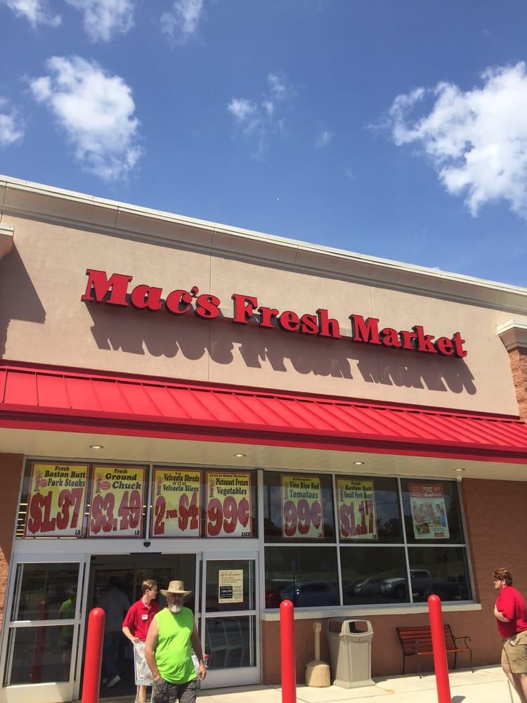 Macs Fresh Market Monroe La Store Hours