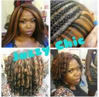 Crochet braids using kanekalon can be worn straight or ...