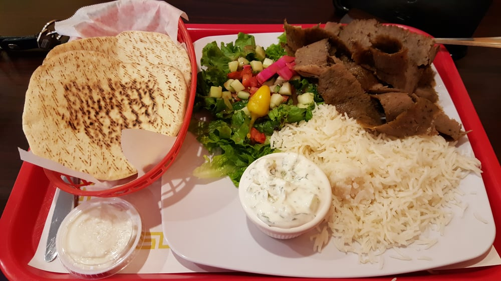 Excellent Gyro Plate! Getting My Fatness On  Yelp