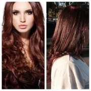 cinnamon spice hair color