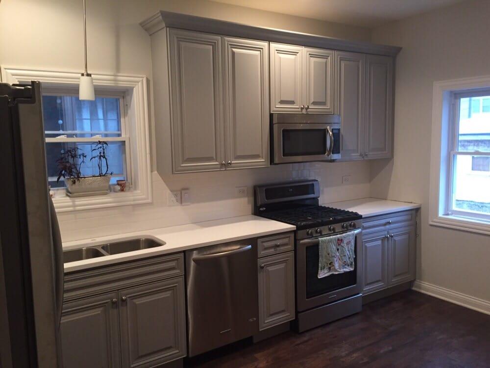 San Antonio Gray Cabinets  Yelp