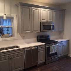Refinishing Kitchen Cabinets Cost Ashley Furniture Sets San Antonio Gray - Yelp