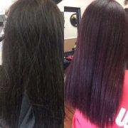 highlights hair design