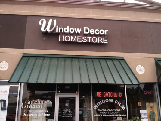 Window Decor Home Store Shades & Blinds 1401 Doug Baker Blvd