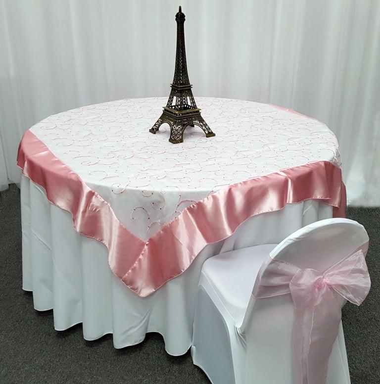 Snowflake Tablecloth Overlay