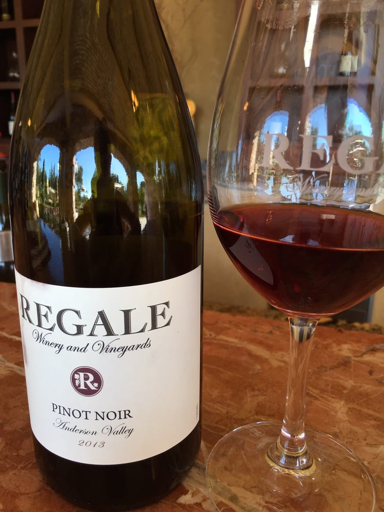 Love this Anderson Valley Pinot Noir from Regale Winery  Yelp
