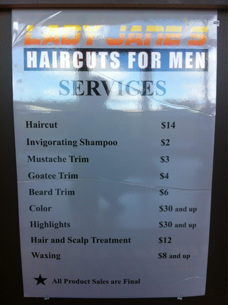 Lady Jane's Haircut Prices : jane's, haircut, prices, Janes, Haircut, Prices, Bpatello