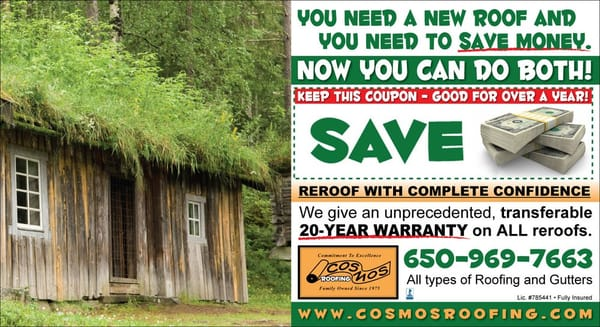 cosmos roofing 2481 2487