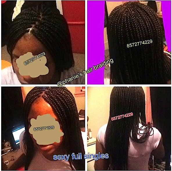 long single braids