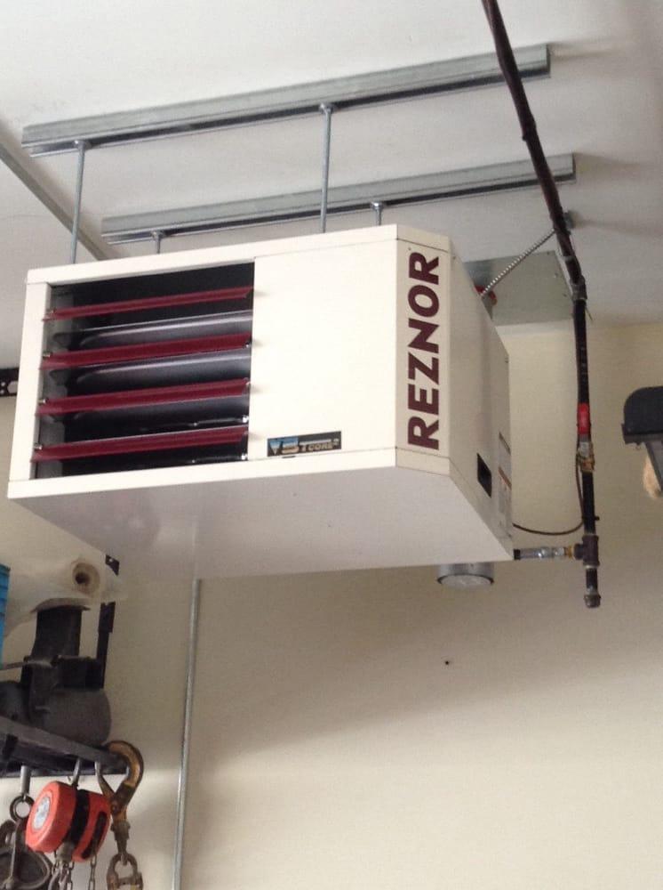 60000 btu reznor garage heater installation  Yelp