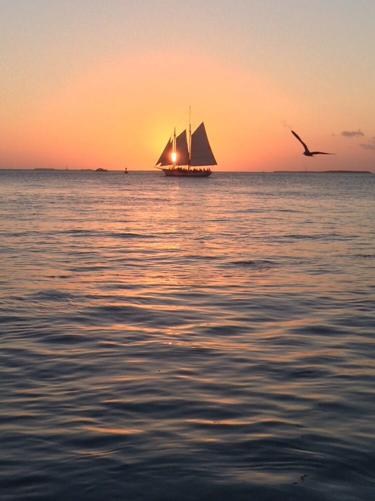 Mallory Square - Key West, FL, United States. Unadulterated sunset beauty