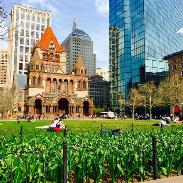 Copley Square Boston MA