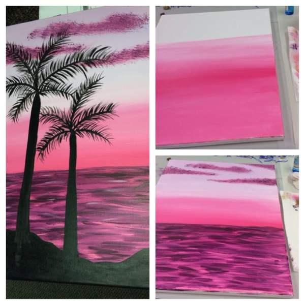 Canvas Paint And Wine - 14 & 23 Sip Huntington Beach Ca