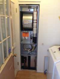 Mobile home furnace installation (Huntington Beach)