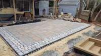 Interlocking concrete patio. Techo-Bloc BLU 60 mm slab ...