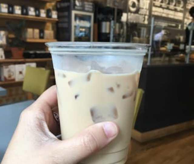 Photo Of Public Domain Coffee Portland Or United States Iced Vanilla Latte