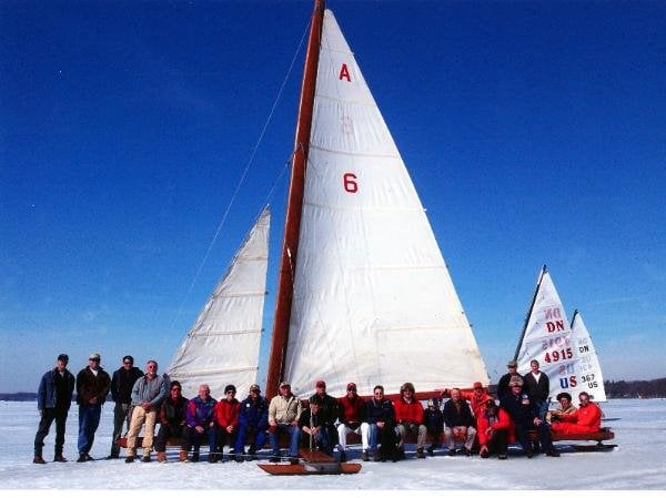 From The Ice Sailing Yacht Club Web Page Bobs The PET