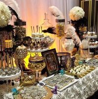 Elegant Wedding Candy Table done by us. - Yelp