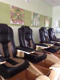 Lexor Infinity Spa Pedicure chairs at Abbey's Nails & Spa ...