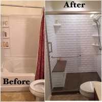 White Subway Tile Shower.28 Best. Subway Tile Shower Grout ...