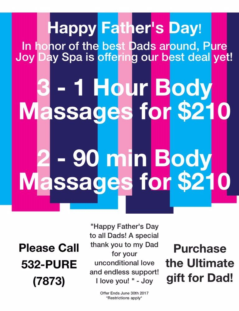 father s day specials