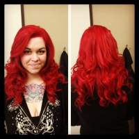 Fire Engine Red Hair Dye Permanent Because, Fire, Free ...