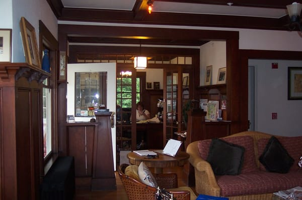 Lovely Craftsman Style Living Room