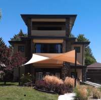 Tension sail shade canopy patio cover | Yelp