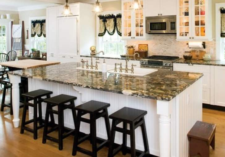 Mobile Kitchen Island With Sink