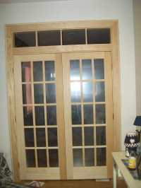 French Doors & Custom Interior Window