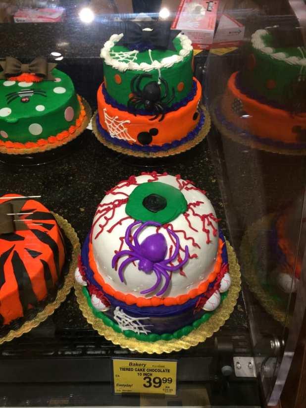 Safeway Halloween Cake Cartoonview