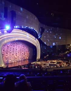 Photo of zappos theater at planet hollywood las vegas nv united states also my seat for  lo section row  yelp rh