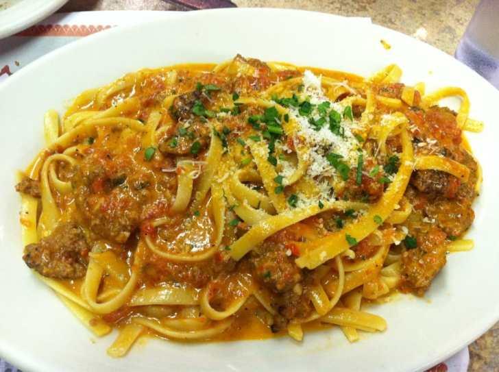 Lorna Italian Kitchen San Diego United States Tagliatelle