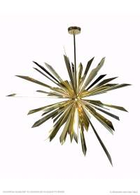 California Sunburst Chandelier by Tony Duquette for
