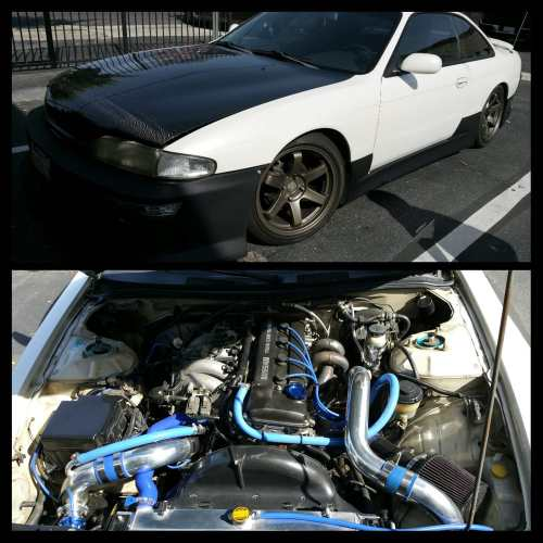 small resolution of 240sx twin turbo kit