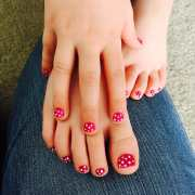 super cute and easy nail design