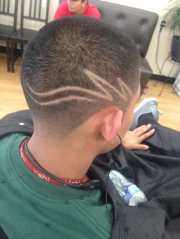 extra fresh hair cut and design