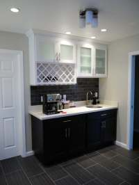 Wet Bar Cabinets and Counter Top - Yelp
