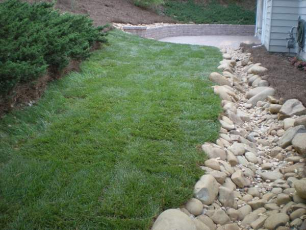 dry creek bed drainage - yelp