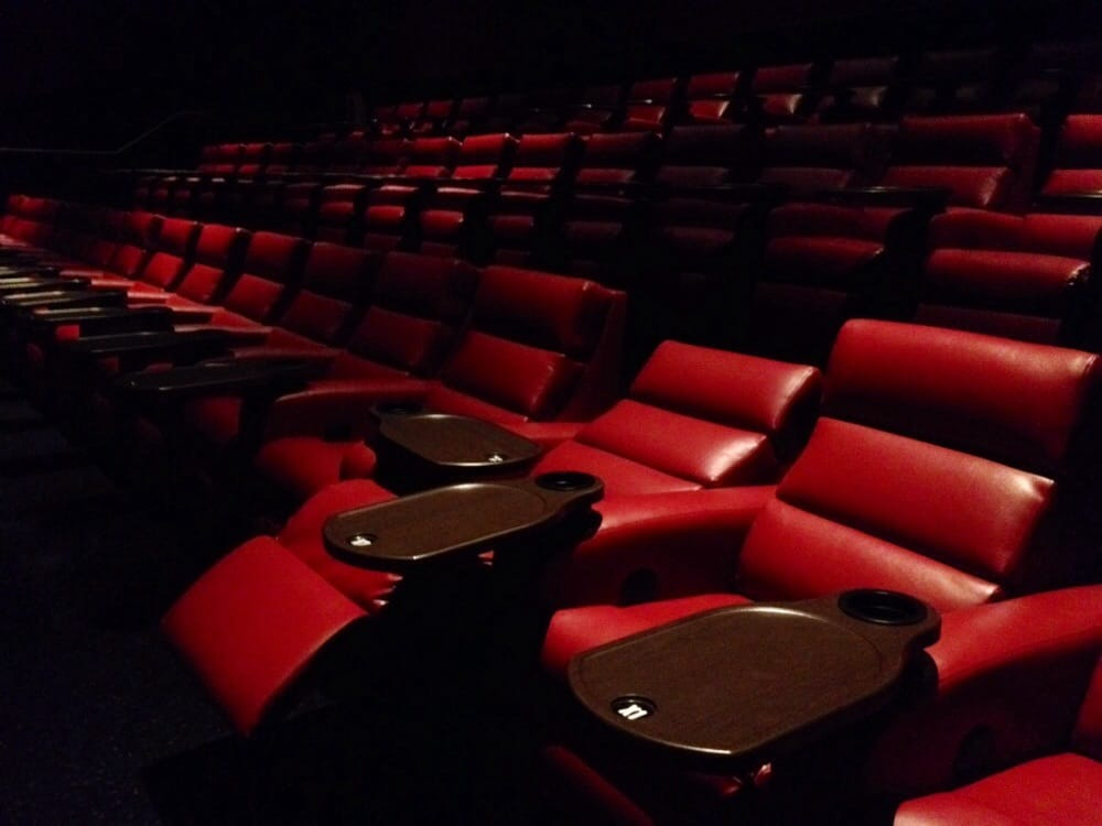 Electric reclining chairs in all auditoriums except for