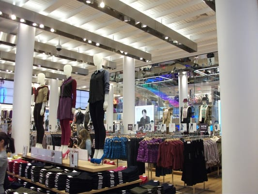 Uniqlo  Womens Clothing  Union Square  San Francisco