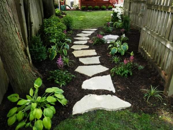 natural stone pathway. - yelp