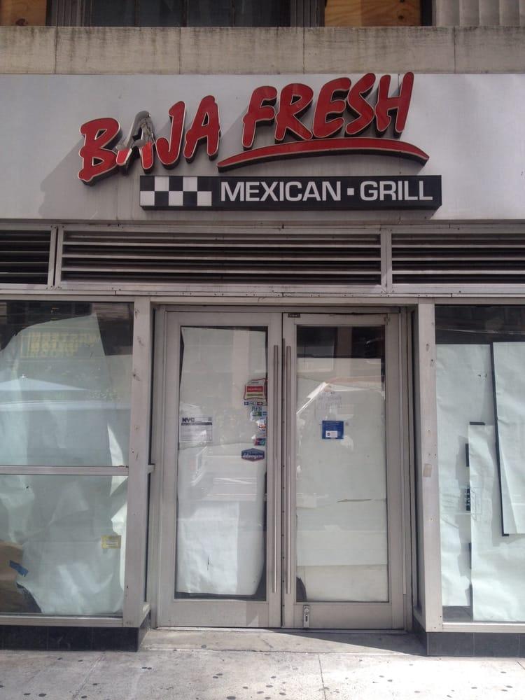 Baja Fresh New York