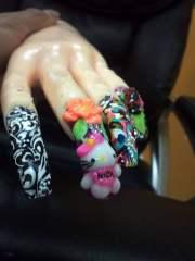 3d nails nail arts natural